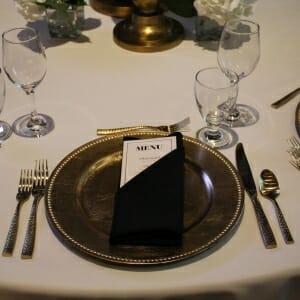 Table Settings & Glassware