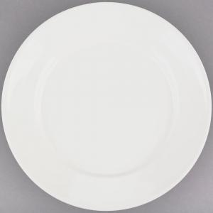 Off White dinner plate