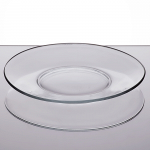 8in clear plate