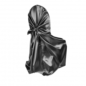 Black Universal Chair Cover