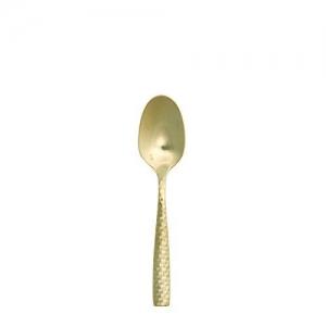 Gold Honeycomb Teaspooon