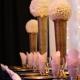 Milan Gold vases