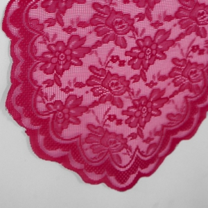 Fuchsia Lace Table Runner