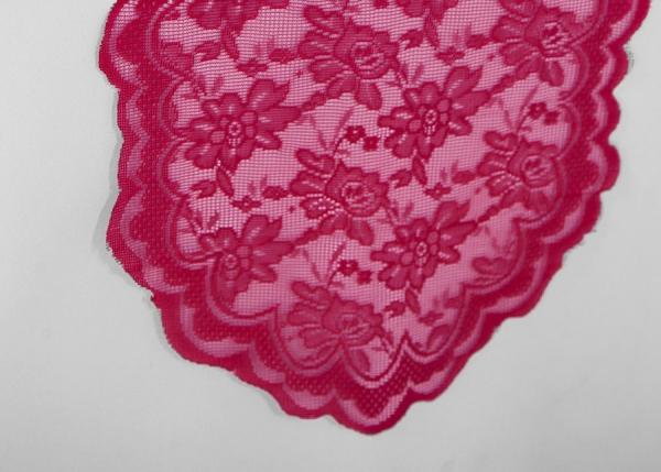 Fuchsia Lace Table Runner