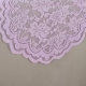 lavender lace table runner