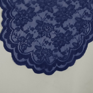 Navy Blue Lace Runner