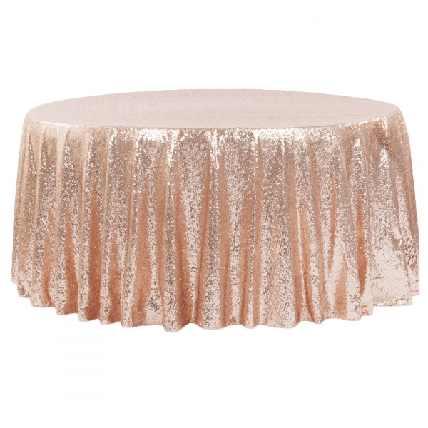 Rose Gold Table Linen