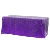 Purple Sequin Rectangular