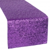 Purple Sequin Table Runner